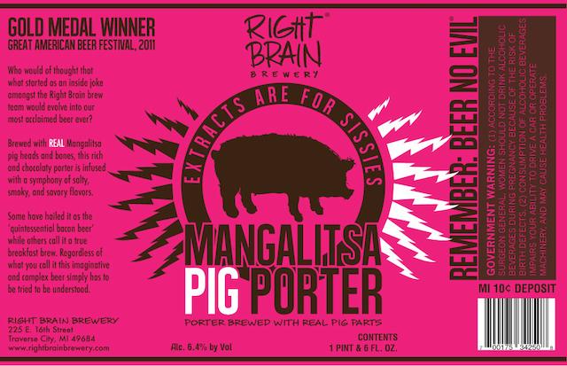 Mangalitsa Pig Porter