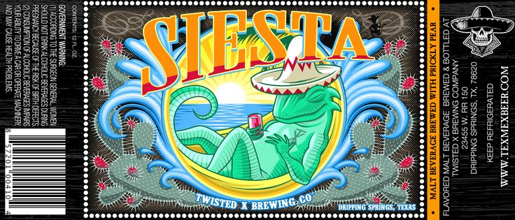 Siesta Prickly Pear Lager