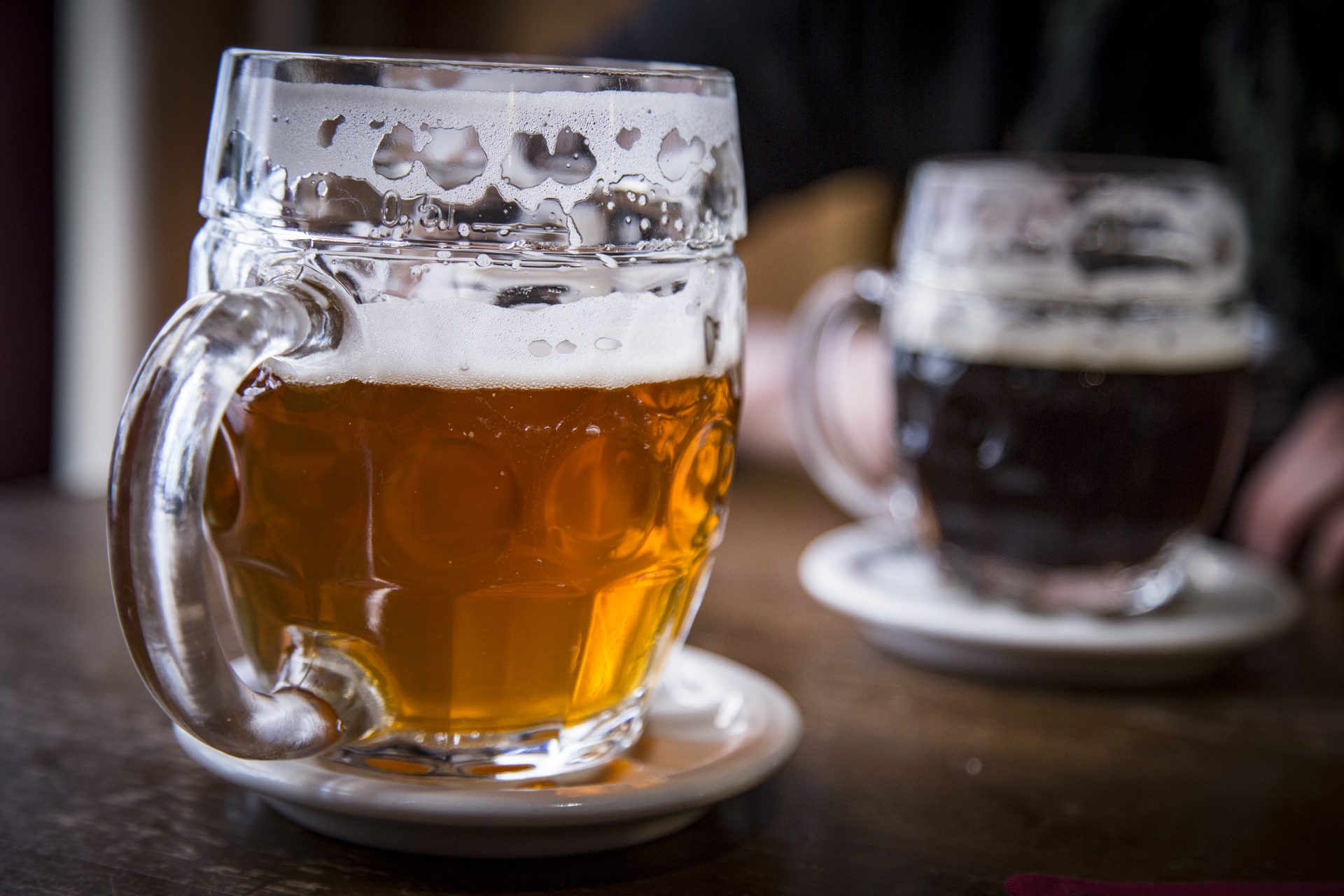 beer can help with managing blood pressure