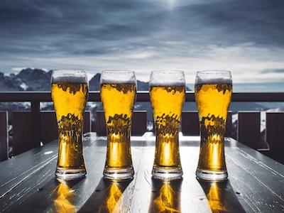 beer fights dandruff