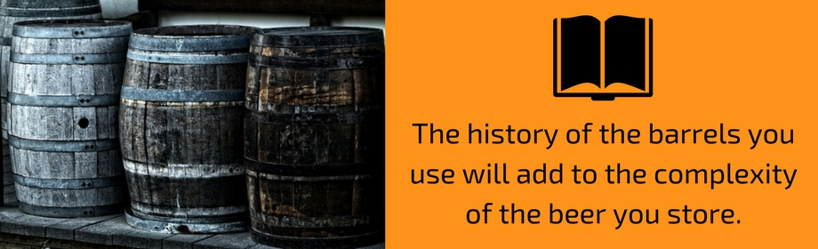 history of barrels for aging