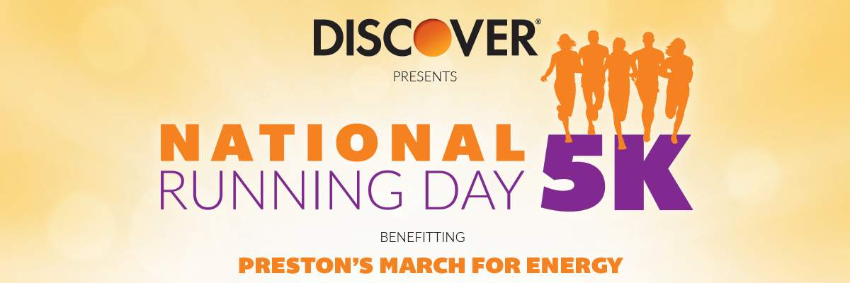 Race Header National Running Day 5K benefiting Preston's March for Energy